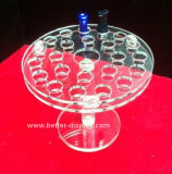 Crémaillère d'étalage acrylique claire d'E-Cigarette Btr-D3016A