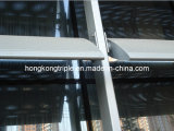 PVDF Powder Coated Aluminum Sunshade Louver e Shutter