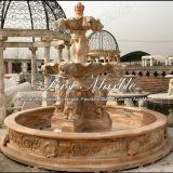 Fontana rossa Mf-368 di Ny dell'acqua di pietra di marmo del granito