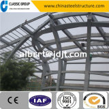 経済的視点の容易な造りの鉄骨構造の倉庫または研修会または格納庫の価格