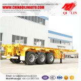 China Factory Tri-Axle Shipping Container Trailer Dimensões