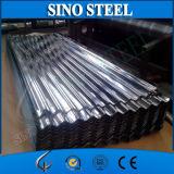 Lamiera di acciaio ondulata galvanizzata Z80 dura piena del metallo di Dx51d 0.28*800mm