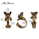 Abrigo animal superventas de los anillos del dogo francés para la joyería de las señoras de la manera del perro de perrito de las mujeres