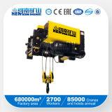 1ton 2ton 3ton 5ton 10ton 15ton 20ton 80t europäische Wirerope elektrische Hebevorrichtung
