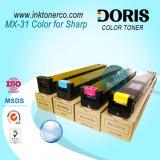 Mx31 Color Copier Toner Mx2600n Mx3100n pour Sharp