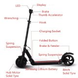 LED表示が付いている8inchによって折られる蹴りのスクーター