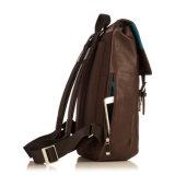 Горячий продавая Backpack компьтер-книжки Brown конструкции способа хорошего качества кожаный