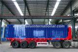 Rimorchio resistente di dumping posteriore del trasporto del carico del ribaltatore dei 3 assi semi