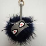 도매 가짜 모피 괴물 모피 Keychain