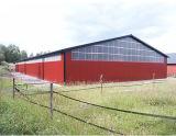 Almacén logístico ligero prefabricado de la estructura de acero (KXD-144)
