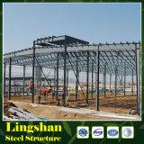 Estructura de acero ligera para la casa prefabricada