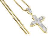 Het goud plateerde Juwelen Wholesales van 925 de Echte Zilveren DwarsTegenhangers