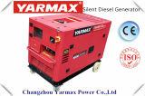 ¡Fabricante de Yarmax! ¡Venta caliente! Generador diesel silencioso 6kVA, OEM del comienzo eléctrico superior de la venta