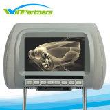 Monitor de carro 7 polegadas LCD Digital Screen Monitor de apoio para cabeça do carro Distância ajustável 105 -230mm com 2 entradas de vídeo