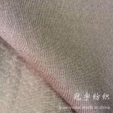 Tessuto della pelle scamosciata di timbratura di oro per il sofà