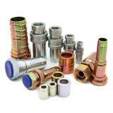 ISO 7241 Serie HochdruckmessingEdelstahl-hydraulische Schlauch-Befestigungs-Schnellkupplungs