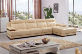 Modernes L Form-Sofa, modernes ledernes Sofa (SA27)