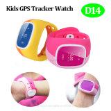 GPS en plusieurs langues pour enfants Tracker Visionner avec Sos Button (D14)