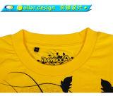 Vente en gros en gros de T-shirt de coton de Pima