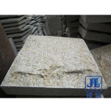 G682 Rusty Yellow Granite Mushroom Stone Wall Cladding