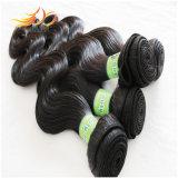 100%マレーシアのRemyの毛7Aの等級のもつれの自由で柔らかい毛