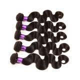 Peruca de venda do cabelo brasileiro do Virgin dos produtos do cabelo de Aliexpress a melhor meia 3 da amostra livre pacotes da onda do corpo