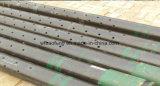 Downhole Pijp van het Scherm van de Controle van het Zand van het Roestvrij staal van de Pomp van de Schroef de Samengestelde