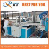 PVC 기계를 만드는 플라스틱 빵 껍질 거품 널 압출기