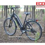 Bicicleta elétrica da cidade com bateria de lítio Eb 222