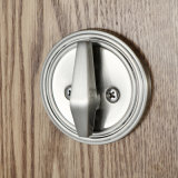 Satin Nickel에 있는 단 하나 Cylinder Full Plated Entrance Handleset Lock