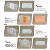 Casella di attrezzatura di plastica di pesca del coperchio dello scompartimento incorporato impermeabile