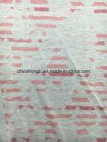 Ожог высокого качества вне & ткань печатание Poly/L 85/15 одиночная Джерси для тенниски