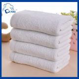 純粋な綿300g白いタオル(QH887012)