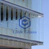 خضوع حاكّة زجاجيّة [أو] شكل زجاج (يحنى زجاج) لأنّ بناية وأثاث لازم