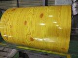 Bobine en acier de Ral et enduite d'une première couche de peinture galvanisée enduite par couleur PPGI