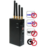 China Mobile Mobile Signal Jammer CDMA / GSM / GPS / 3G Blocker