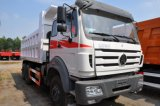 Beiben 또는 북쪽 벤츠 6X4 380HP 덤프 트럭