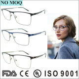 GroßhandelsunisexEdelstahl-Brille-optischer Rahmen