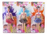 11.5 Inch Hard Material Wind herauf Plastic Girls Toy Doll (10217621)