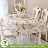 Tablecloth plástico impresso do Tablecloth do PVC 2017 costume novo