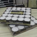 Длинняя горящая белая свечка Tealight от изготовления Китая