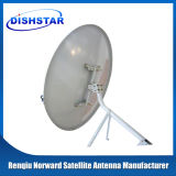 Ku Band 100/120/150cm Wall Mount Satellite Dish Antenna