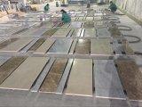 軽いEmperadorカラーラの白い中国ベージュ大理石の床タイル