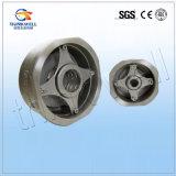 Únicas válvulas de verificação todas do disco corpo de aço inoxidável
