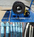 Frisador hidráulico Km-92s-a da mangueira da mão portátil