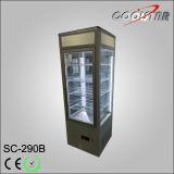 4개의 측 공기 냉각을%s 가진 투명한 유리제 전시 진열장 (SC-290B)