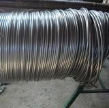 "ASTM 304 Grad-Edelstahl-haarartiges Gefäß 3/8 "" X 0.049 """
