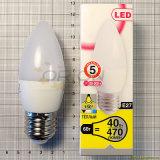 Indicatore luminoso della candela della lampada 5W E14 E27 LED della lampadina del LED per la casa