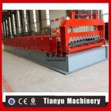 Tuile de toiture en métal de Tianyu \ roulis à grande vitesse feuille de toiture formant la machine