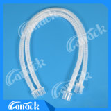 Circuito de respiración de la anestesia estéril disponible de los PP y de EVA acanalado